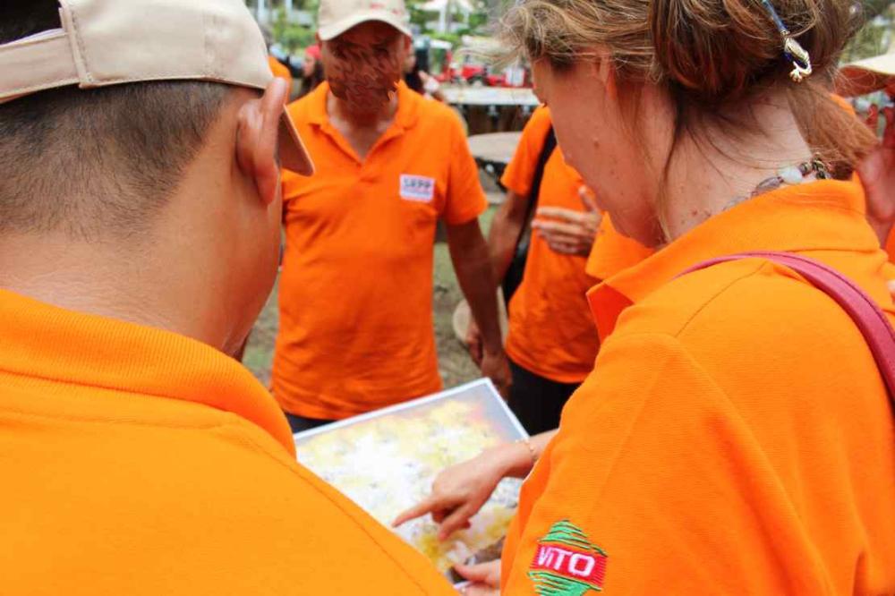 cohésion, solidarité et échange teambuilding à La Réunion, agence Brand et consultant -