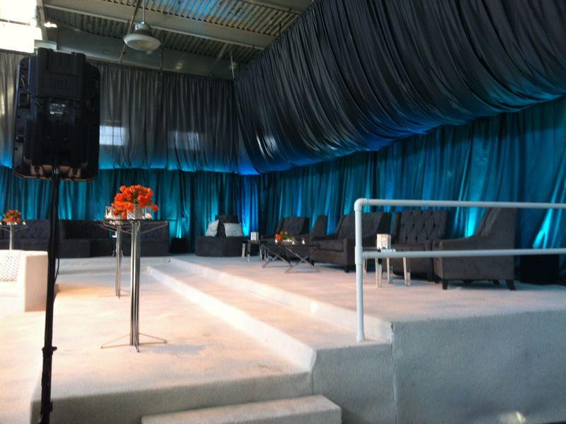 espace banal pour un evenement, pas d ambiance