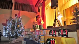 Spectacle clown pour enfants, arbre de Noël, La Réunion